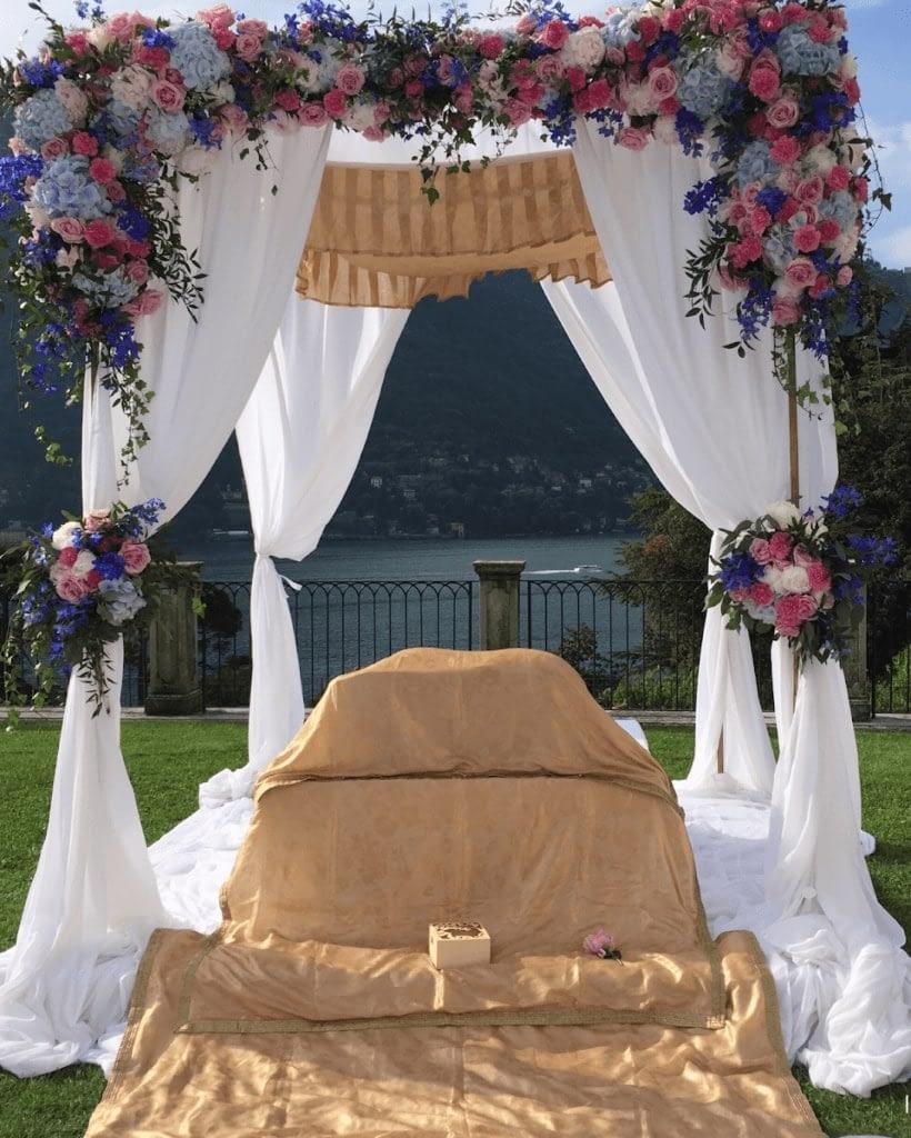 Indian Sikh Wedding Villa Italy