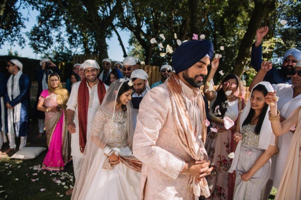 Lake Como Sikh Wedding