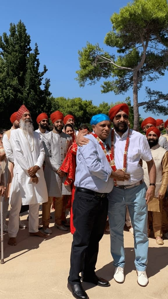 Sikh Wedding Lake Como