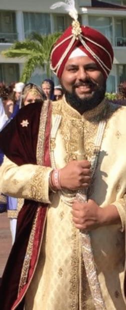 Sikh Wedding Priest Italy