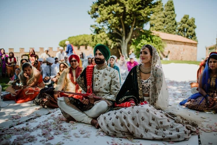 Lake Como Sikh Wedding