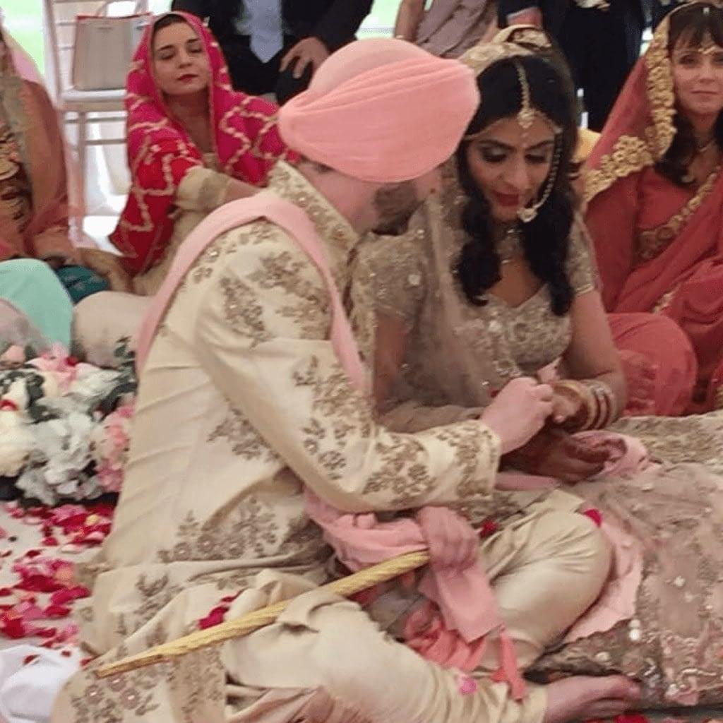 Sikh Priest Sikh Wedding Italy