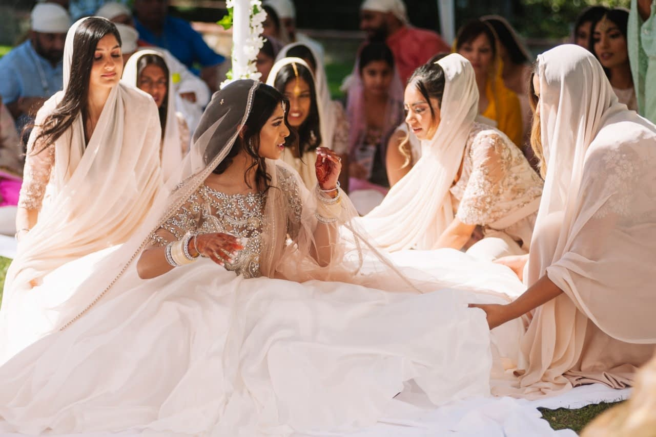 Indian Sikh Wedding Villa Italy